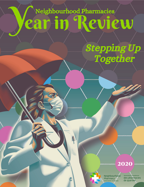 Year in Review 2020 Stepping Up Together Cover Page