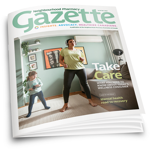 Neighbourhood Pharmacy Gazette - 2021 Winter Issue Cover